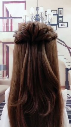 Cute simple braided hairstyle for long hair| Hairstyle Tutorial.Different Braiding Methods and Braiding Style| Hairstyle Tutorial