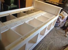 Build a Twin Bed with Storage