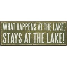 Estancias en el lago Box sesión