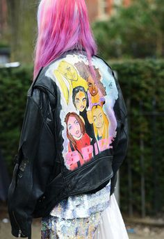 SPICE up your life! #streetstyle   SPICE GIRLS MOTO!!!!!!!