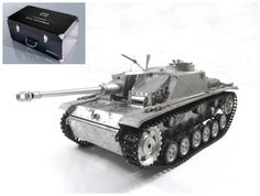 Cheap rc tank infrared, Buy Quality rc tank directly from China tank rc Suppliers: Metal Mato Stug III RTR RC Tank Infrare Barrel Recoil 1226 Metal Color Panzer Iii, Remote Control Toys, Radio Control, Rc Tank, Rc Crawler, Battle Tank, Military Vehicles, Wwii, Barrel