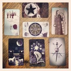.@Pamela Culligan Love NYC | The first photographic tarot card set from 1975. By bea nettles