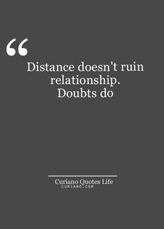 Doubts do