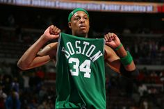 Get used to it! You're gonna see a lot of Celtics on this board! Paul Pierce, NBA Champ!