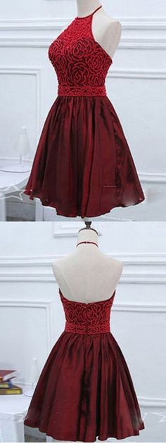 2018 Burgundy Homecoming Dress Cheap Party Homecoming Dress