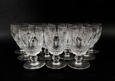 Collection%20of%20Twelve%20Waterford%20Water%20Goblets