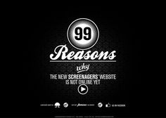 99 reasons the site's not online #webdesign #inspiration #UI
