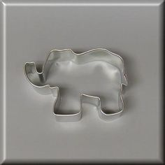 3 Elephant Cookie Cutter 3 Elephant Cookie Cutter [NA6002] - $0.90 : American Tradition Cookie Cutters, $0.90 each. Made in the USA