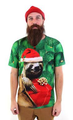 Christmas Sloth Men's Tee