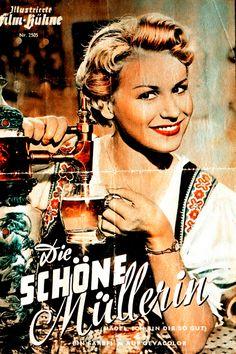 Poster zum Film. Die schöne Müllerin. 1954