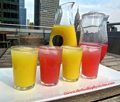 Mango and Watermelon Aguas Frescas- so simple and so refreshing!