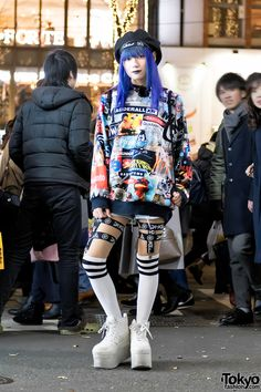 19-year-old transgender Japanese student Layla on... | Tokyo Fashion