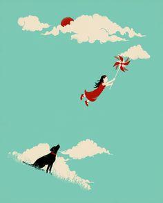 Poster | PINWHEEL von Jay Fleck | more posters at http://moreposter.de