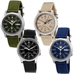 Seiko 5 Sports Military Automatic Watch SNK803K2 SNK805K2 SNK807K2 SNK809K2