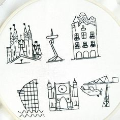 Hand embroidery Barcelona