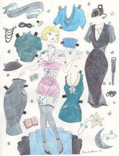 Stella ist ein Modell in den 1920er Jahren Frankreich. Sie ist bekannt für posiert in himmlischen Einstellungen, schwarz-weiß, knackige, Mond und Sterne aus Holz. Oper legen Nachthimmel. Posiert in diese Sätze erhöht ihre Leidenschaft für das was in einen dunklen Himmel lebt, und sie nahm ein Amateur Ausübung der Astronomie. Sie ist tätowiert mit Konstellationen. Ihr Liebling, Ursa Major (Großer Bär), es gespreizten über ihre Brust.  Stella kommt mit: -eine Bandit-Maske -eine Kamera lucida…
