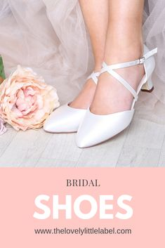 ** SHOP NOW ** Bridal Shoes to suit every style from The Lovely Little Label, we. ** SHOP NOW ** Bridal Shoes to suit every style from The Lovely Little Label, we've got low heel wedding shoes, high hee. Wedge Wedding Shoes, Beach Wedding Shoes, Wedding Shoes Bride, Bridal Shoes, Ivory Wedding, Dream Wedding, Wedding Dresses, Low Heel Shoes, Low Heels