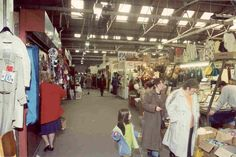 Browsing for a bargain in the Alfiorde St Market, Widnes Liverpool City, Childhood Memories, Birth, Nostalgia, Rest, Marketing, History, Historia, Births