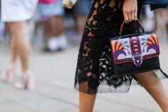 Street style: les plus beaux détails des Fashion Week Printemps/Eté 2015 | Femina