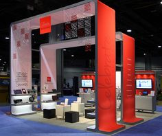 5 Key Elements to a Winning Exhibit Display  I loooooove this booth and this product! So many options... so little time!