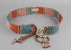 Sotho belt, early 1900's.  British Museum collecion.