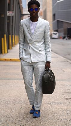 White Summer Suit I can honestly say that this suit has saved my life! For instance, all those formal occasions where its way too hot to wear a wool, or...