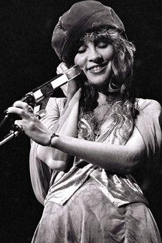 Stevie Nicks with Fleetwood Mac Live, 1978.