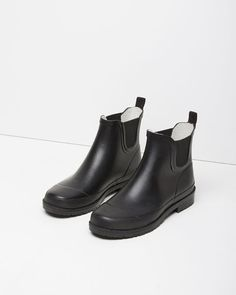 MHL by Margaret Howell  | Wellie Ankle Boot | La Garçonne