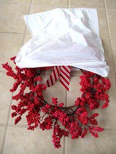 Sew Many Ways...: Storing Wreaths...