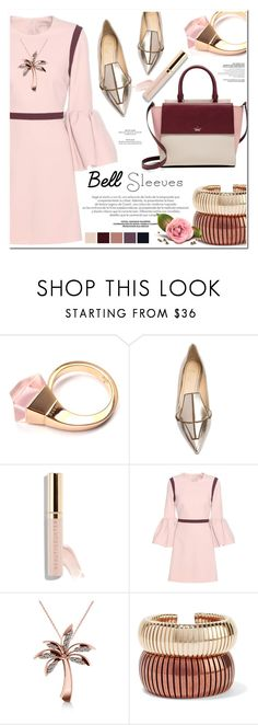 """""""bell sleeves"""" by nanawidia ❤ liked on Polyvore featuring Gucci, Jerome C. Rousseau, Roksanda, Allurez, Rosantica, Kate Spade and polyvoreeditorial"""