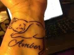 cat memorial tattoos - Yahoo Image Search Results