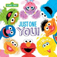 Elmo, Big Bird, and all the rest of the Sesame Street friends are here to tell you just how special you truly are! Formerly known as the Children's Television Workshop, Sesame Workshop is the . Sesame Street Books, Sesame Street Characters, Cartoon Characters, Elmo Books, Street Pictures, Spring Books, Fraggle Rock, Sesame Street Birthday, Apple Books