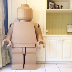 Giant Cardboard Legoman