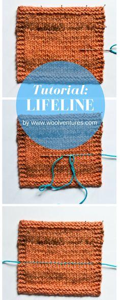 Tutorial: Lifeline | knitting blog, knitting, yarn, wool, knitting blogger, handmade wardrobe, knitting tips, knitting tutorial, lifeline, how to correct knitting errors, how to frog knitting