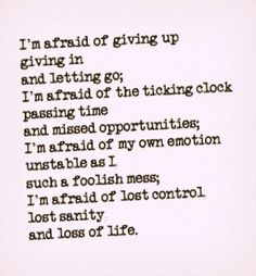 What are you afraid of?  Acknowledge and push through it.