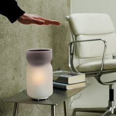 Airswitch TC Interactive Lamp by Mathmos