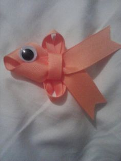 fish hair bow by SavannahsBabyBling on Etsy, $7.00