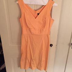 Tangerine sundress Lovely colored sundress with a nice stretch. GAP Dresses
