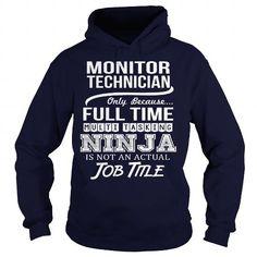 Awesome Tee For Monitor Technician T Shirts, Hoodies, Sweatshirts