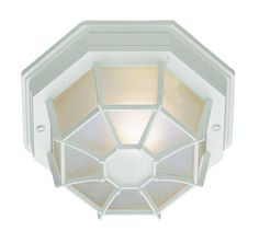 Trans Globe Lighting 40582 WH The Standard 1 Light Flush-mount