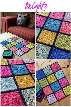 Sunray crochet block | Flickr - Photo Sharing!