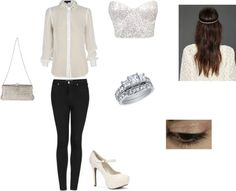"""sparkly"" by liliadances on Polyvore"