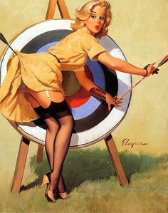 Pin up: A Dangerous Game