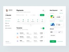 Bankomat: Payments by Vladimir Gruev for Heartbeat Agency on Dribbble Dashboard Ui, Dashboard Design, Website Design Inspiration, Ui Inspiration, Web Design, Design Trends, Graphic Design, Web Application, Motion Design