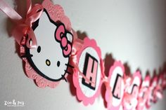 Hello Kitty Banner - Scrapbook.com
