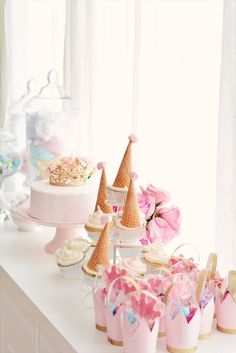 Tea Party Ideas: A Princess Tea Inspired Birthday for a 3 Year Old - The Pink Dream 2 Year Old Birthday Party Girl, Girls Tea Party, Girls Birthday Party Themes, Princess Tea Party, Tea Party Theme, Tea Party Birthday, 3rd Birthday, Princess Birthday Cakes, 1 Year Birthday Party Ideas