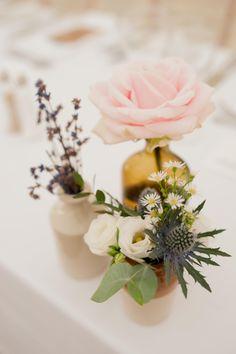 Table flowers, bridal bouquet, wedding flowers, Ireland, Wedding Photographer Northern Ireland,