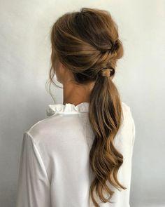Hairstyles With Bangs .Hairstyles With Bangs Party Hairstyles, Bride Hairstyles, Down Hairstyles, Modern Hairstyles, School Hairstyles, Hairstyles Videos, 1980s Hairstyles, Simple Hairstyles, Everyday Hairstyles