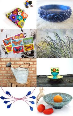 The Flower Garden by Karen on Etsy--Pinned with TreasuryPin.com