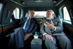 President Obama and Prime Minister Modi talk renewable energy // @inhabitat